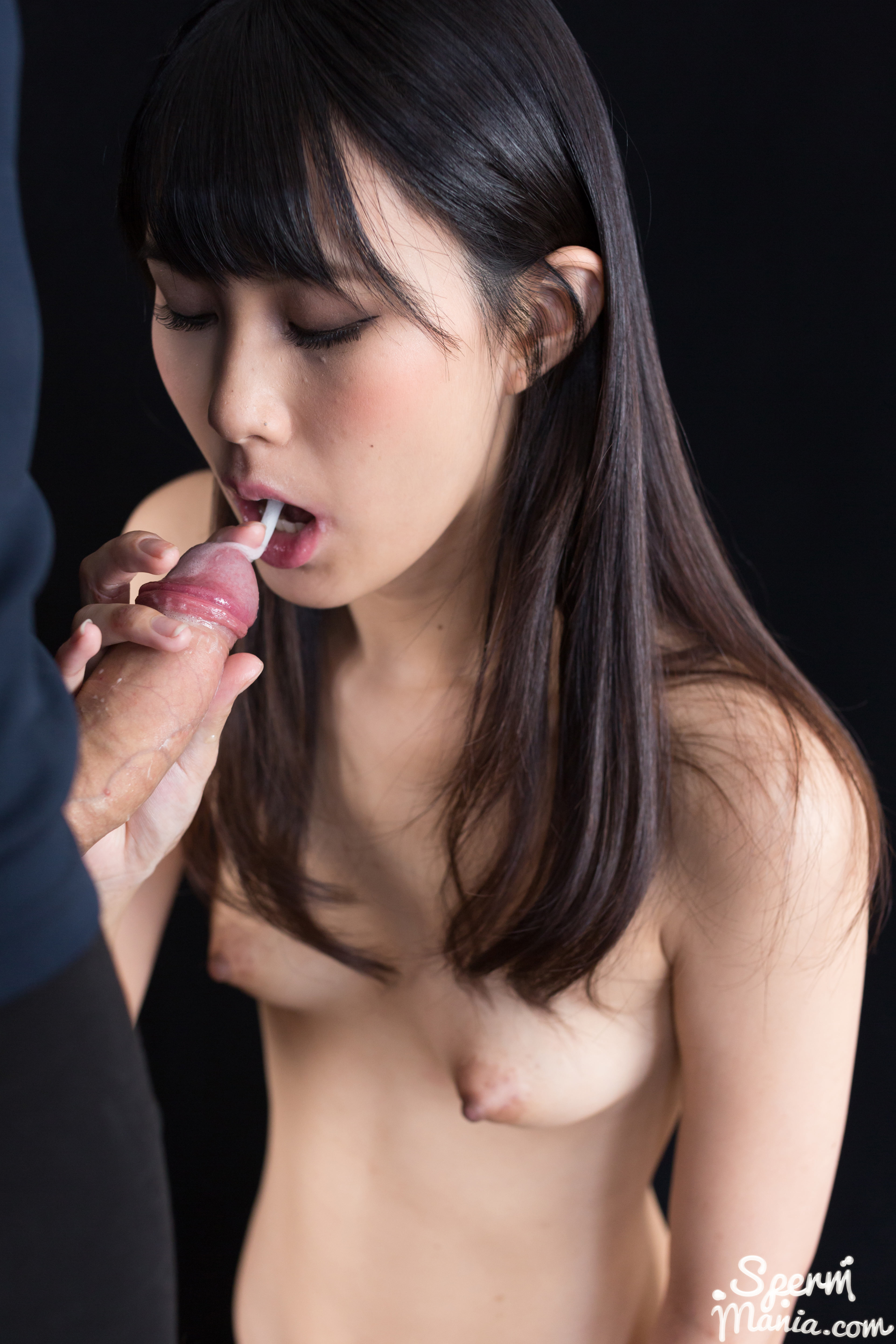 Japanese cum in mouth