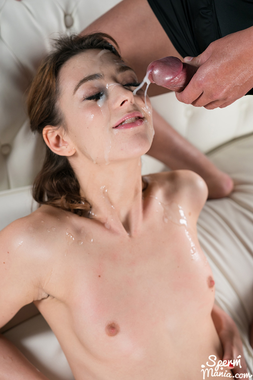 Sperm Mania Tera Links Sticky Bukkake Facial-4397